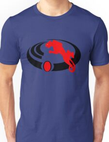 Red Tribal Panther Unisex T-Shirt