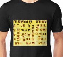 Fragile Yellow Unisex T-Shirt