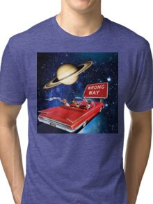 Wrong Way Tri-blend T-Shirt