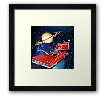 Wrong Way Framed Print