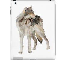 Lone Grey Wolf iPad Case/Skin