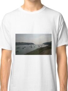 Boating At Fowey Classic T-Shirt