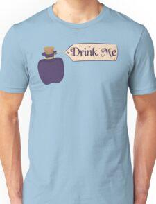 Alice in Wonderland Drink Me Bottle - Whimsical T Shirt Unisex T-Shirt