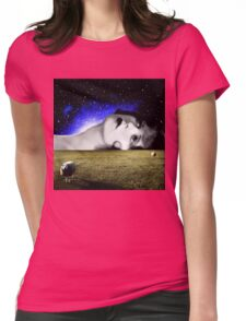 Counting Sheep Womens Fitted T-Shirt