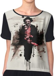 Leatherface 1974  Chiffon Top