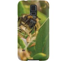 Yet Another Bumble Bee on the Honeysuckle Samsung Galaxy Case/Skin