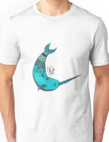 Narwhal in Sharpie  Unisex T-Shirt