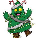 Christmas Monster by striffle