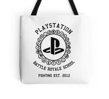 Playstation Battle Royale School (Black) Tote Bag