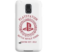 Playstation Battle Royale School (Red) Samsung Galaxy Case/Skin