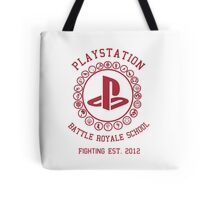 Playstation Battle Royale School (Red) Tote Bag