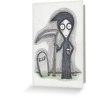 the grim reaper Greeting Card