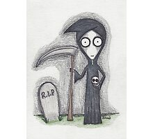 the grim reaper Photographic Print