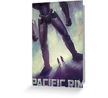 Pacific Rim Poster Greeting Card