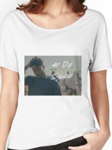 Isaiah Rashad  - 4r Da Sqauw Women's Relaxed Fit T-Shirt