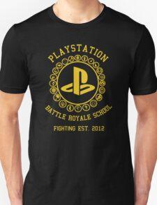 Playstation Battle Royale School (Yellow) T-Shirt