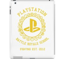 Playstation Battle Royale School (Yellow) iPad Case/Skin