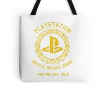 Playstation Battle Royale School (Yellow) Tote Bag