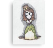 steampunk girl (esther) Canvas Print