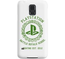Playstation Battle Royale School (Green) Samsung Galaxy Case/Skin