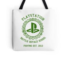 Playstation Battle Royale School (Green) Tote Bag