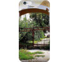Gated Archway under shadow iPhone Case/Skin