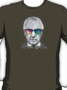 Albert Hofmann - Psychedelic Polygon Crystalised Portrait T-Shirt