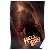 Hell Boy Fan Poster Poster