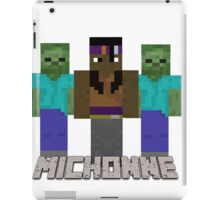 Minecraft Michonne iPad Case/Skin