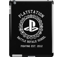 Playstation Battle Royale School (White) iPad Case/Skin