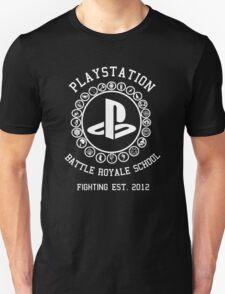 Playstation Battle Royale School (White) T-Shirt