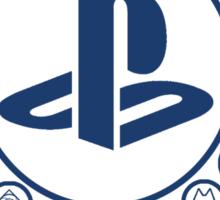 Playstation Battle Royale School (Blue) Sticker