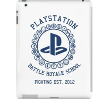 Playstation Battle Royale School (Blue) iPad Case/Skin