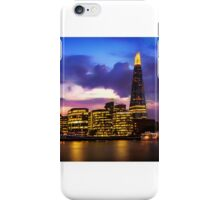 London Skyline - The Shard, City Hall at Night iPhone Case/Skin