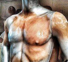 Silver male mannequin awaiting a respray. by cherylkerkin