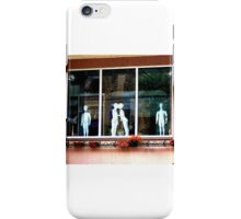 Kissing in the Window iPhone Case/Skin