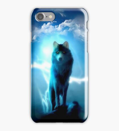 Lighting Wolf iPhone Case/Skin