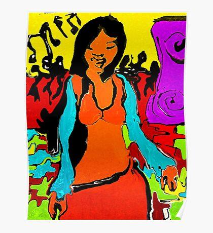 Jamaican  Disco   Dancer  Poster