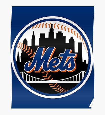 METS NEW YORK Poster