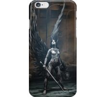 Robot Angel Painting 002 iPhone Case/Skin