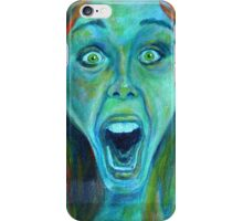 Screaming Girl iPhone Case/Skin