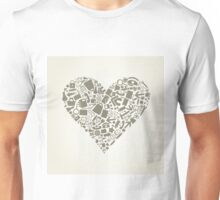 Heart office Unisex T-Shirt