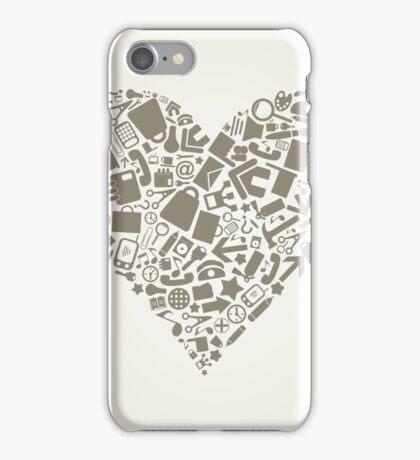 Heart office iPhone Case/Skin