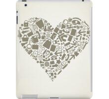 Heart office iPad Case/Skin