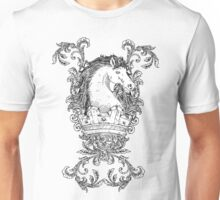 Vintage design with Horse on Crown Unisex T-Shirt