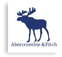 Abercrombie & Fitch Canvas Print