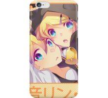 Rin & Len Kagamine - Happy Halloween! iPhone Case/Skin