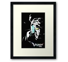 Voltron Glaze Framed Print