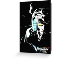 Voltron Glaze Greeting Card