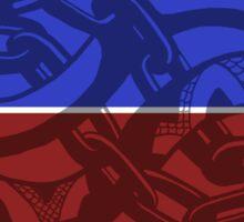 Auryn - Disc Golf Dueling Chain Snakes - CCU Sticker